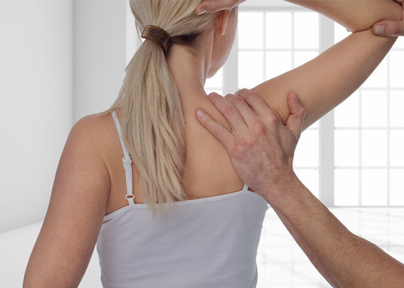 Shoulder pain and injury that required shoulder surgery with Professor Moran